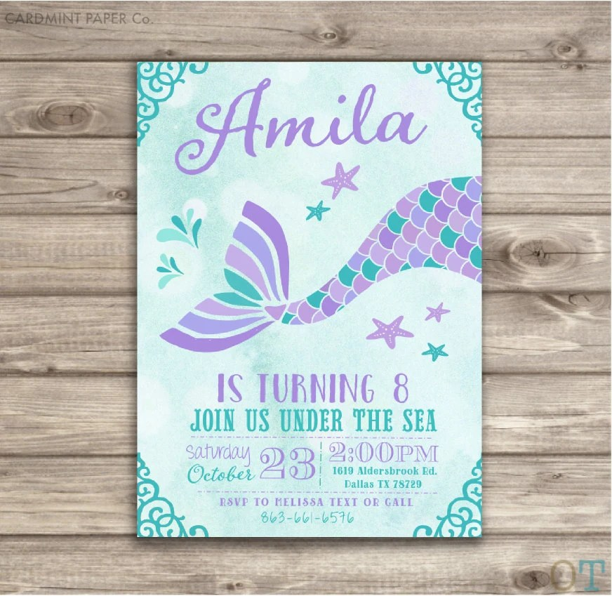 Party Invitations Print Out