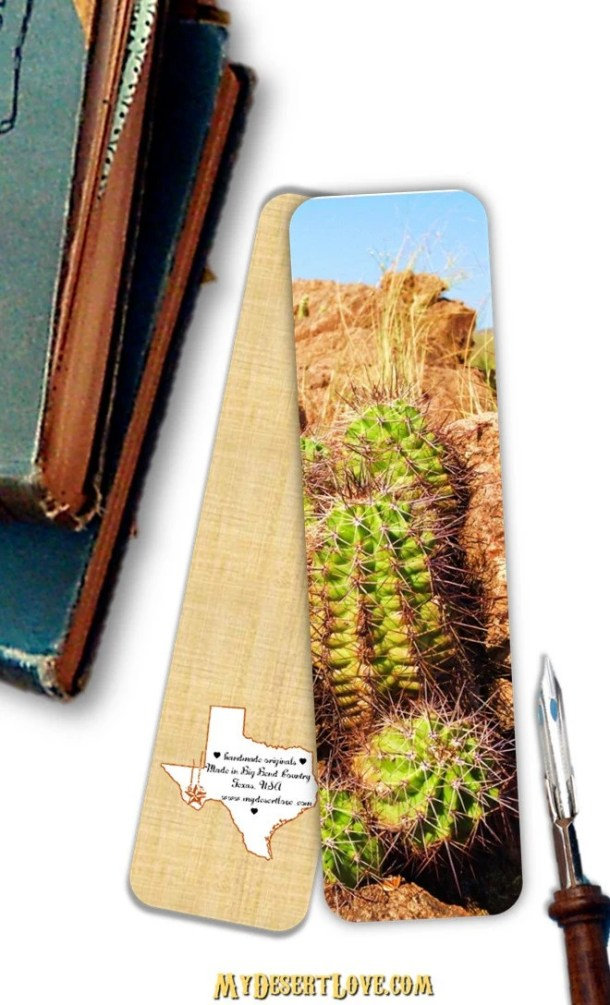 Wild Cactus Photo Bookmar...