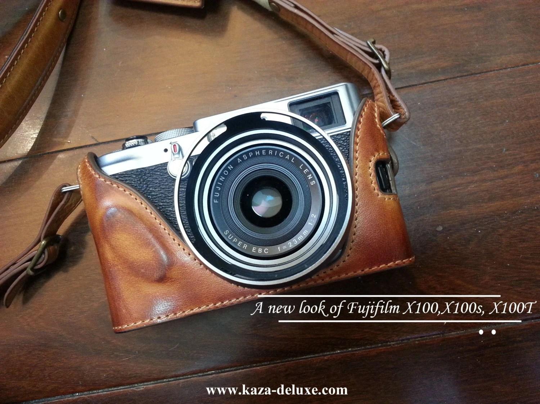 Cow Leather Case For Fujifilm X100t X100s Fujifilm X100