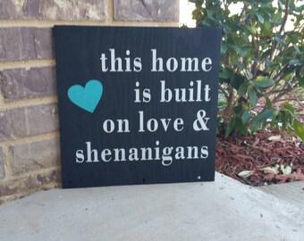 Download Shenanigans sign | Etsy