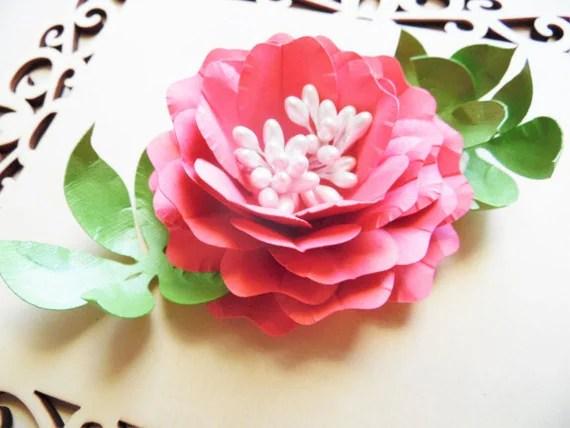 DIY Paper Rose Templates- Paper flower patterns- SVG studio flower files- Instant download paper flower rose templates- SVG cut files