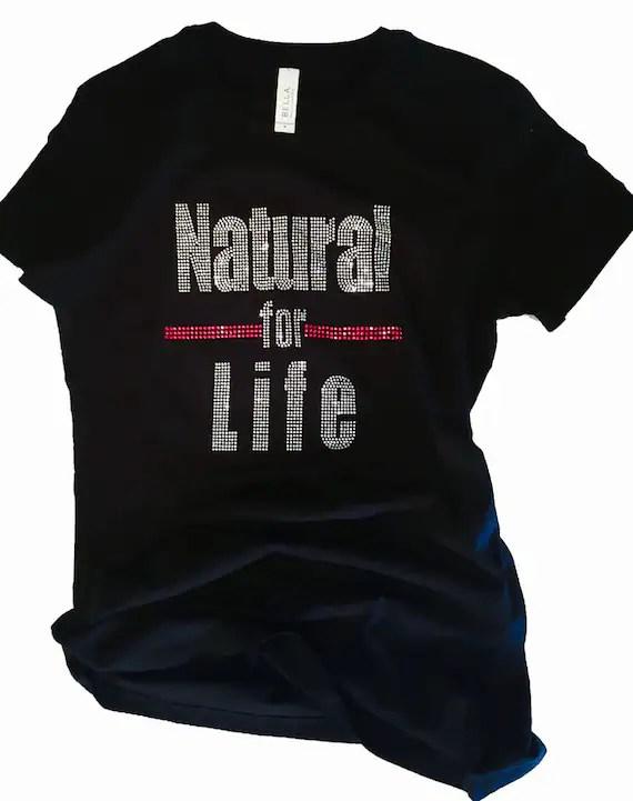 Hair Rhinestones T Natural Shirts