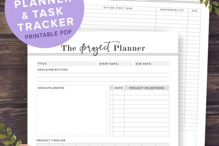 project planner template printable radiovkm tk free project planner printable the best free printables