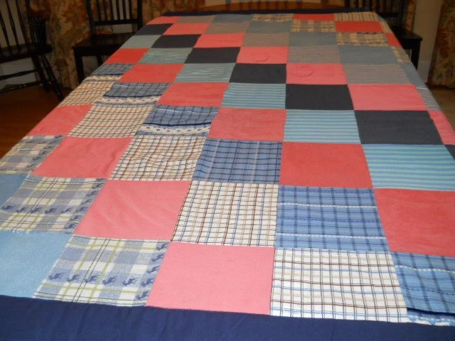 Memory Quilts Made Clothing
