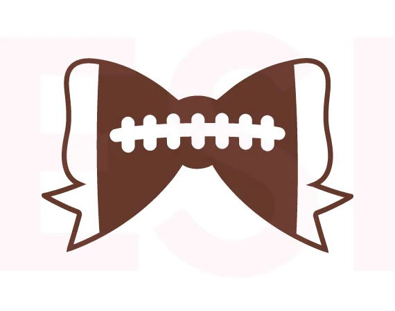 Football Laces Clip Art Silhouette