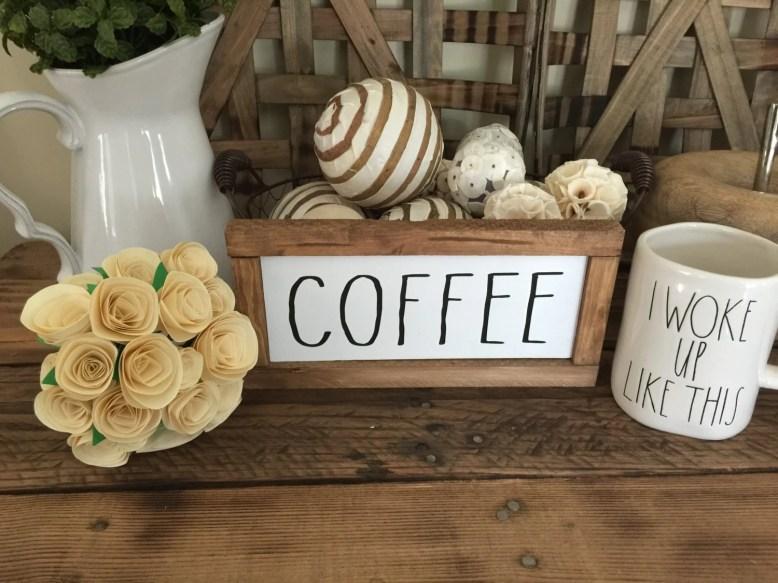 Custom Coffee Bar Wooden ...