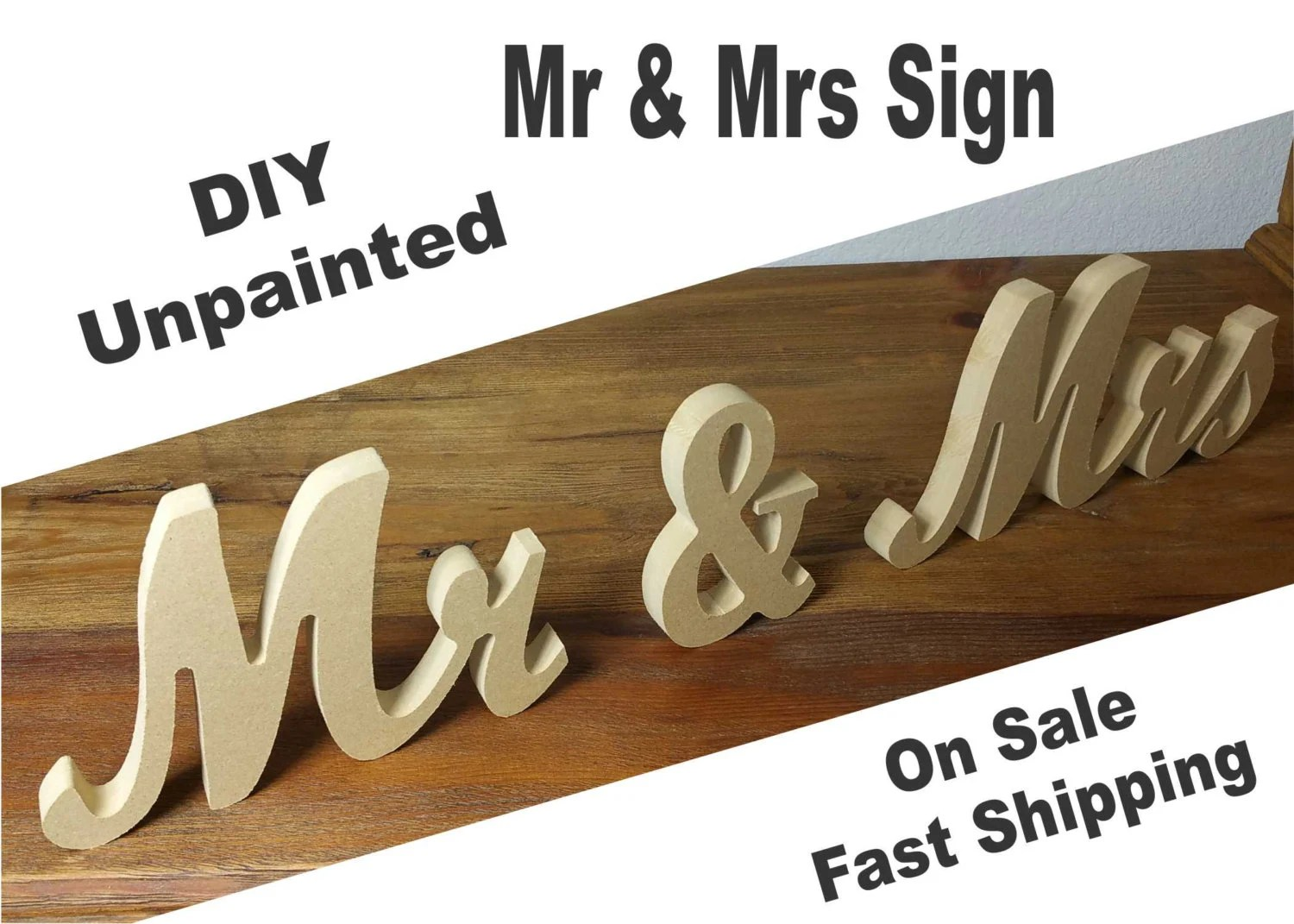Sweetheart Table Mr And. Mrs Sign 7 By Weddingdaymaker On Etsy