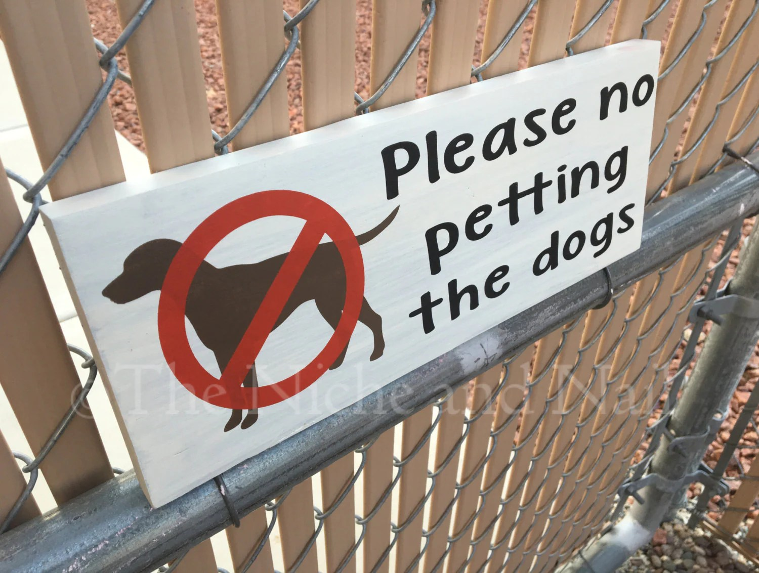 Please No Petting Dogs Sign Outdoor Sign Pet Sign Do Not