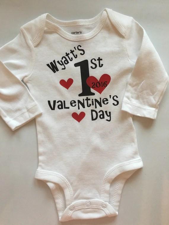 Baby Boy 1st Valentines Shirt Boy Valentines By AboutASprout