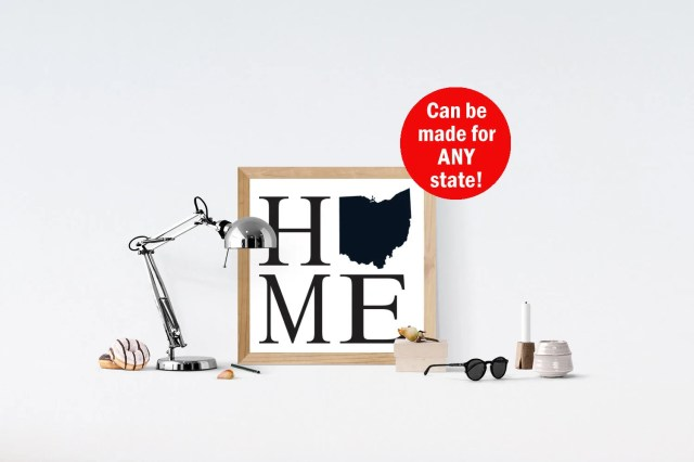 CUSTOMIZABLE Home State, ...