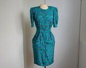Vintage spring dress, col...