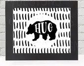 Bear Hug, Black & White, ...