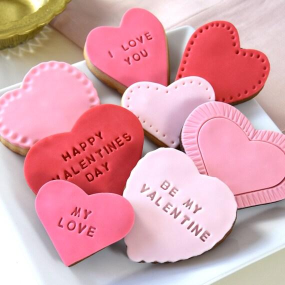 Personalised Valentine's Cookie Gift Set