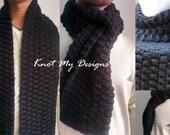 Crochet Black Basket-Weav...