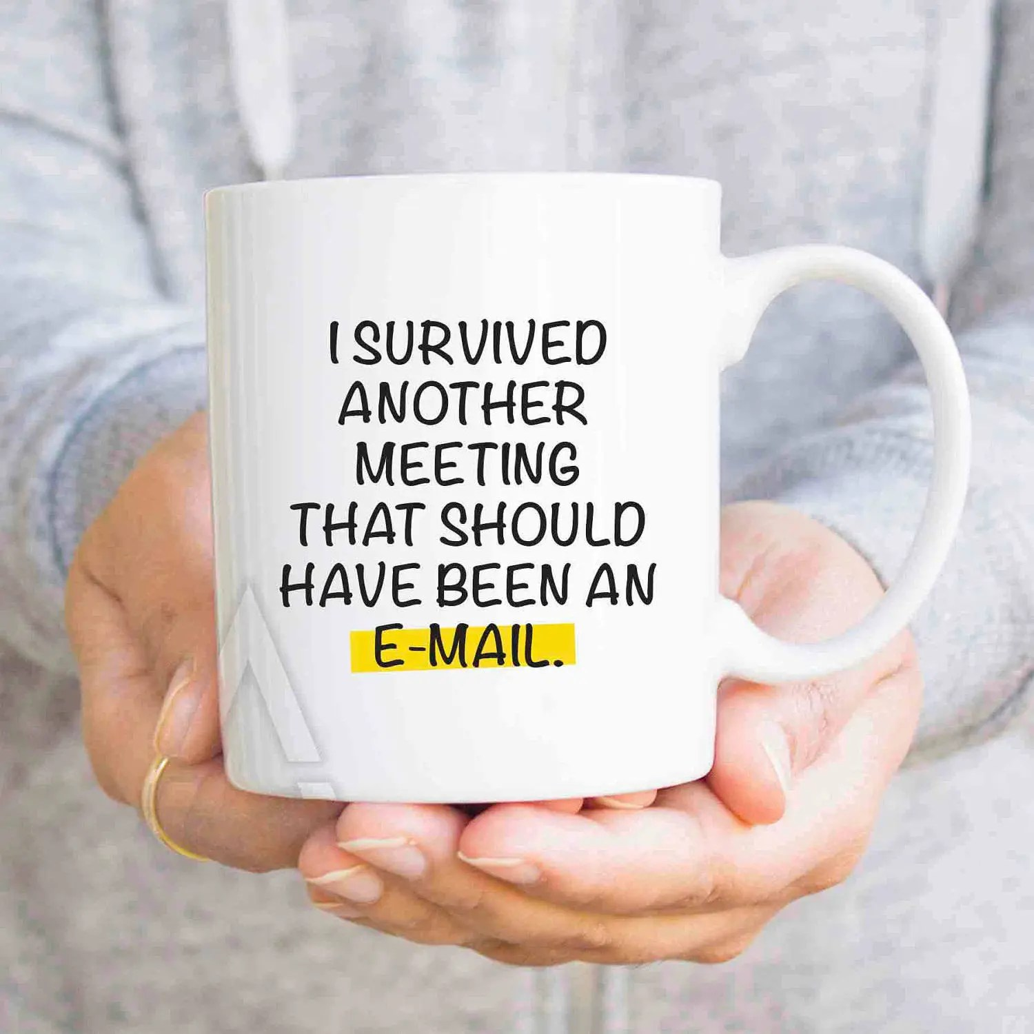 Funny Christmas Gifts For Coworkers I Survived Another