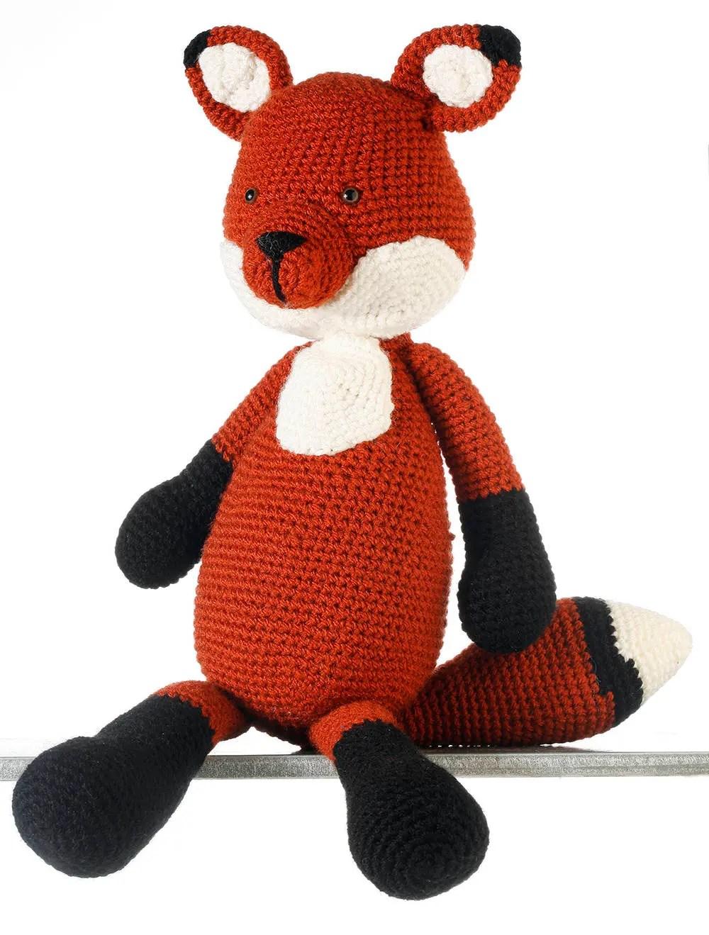 Fanny the Fox, Crochet Fo...