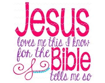 Download God Loves Me SVG File
