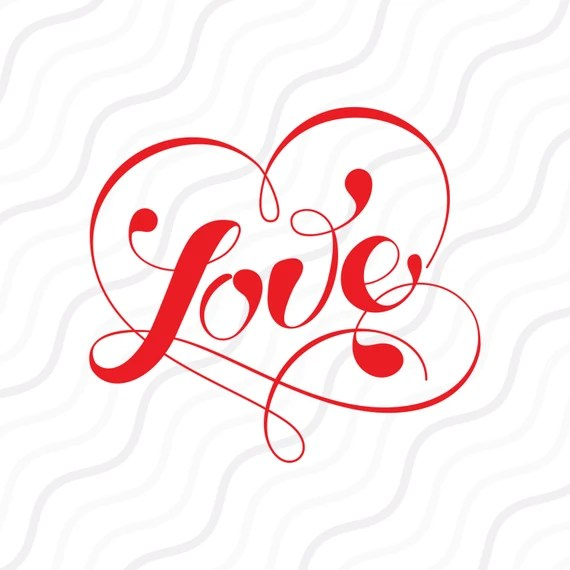 Download Love SVG Heart SVG Valentine svg Valentine Day SVG Cut