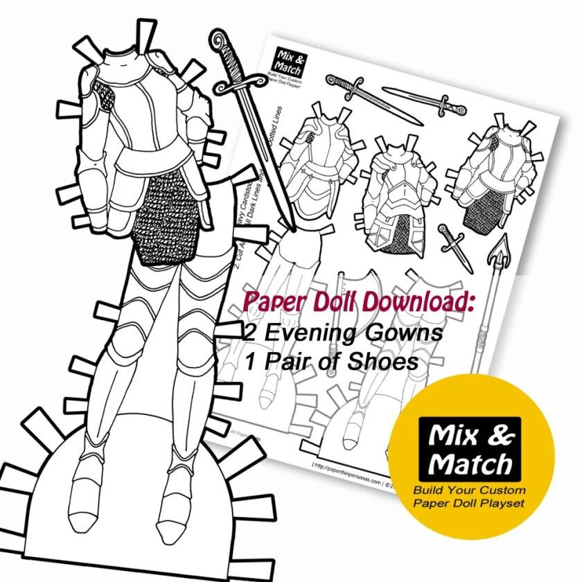 Paper Doll Fantasy Armor ...