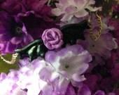 Pastel Goth Rose Bat Neck...