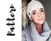 Claire Bun Beanie Crochet...