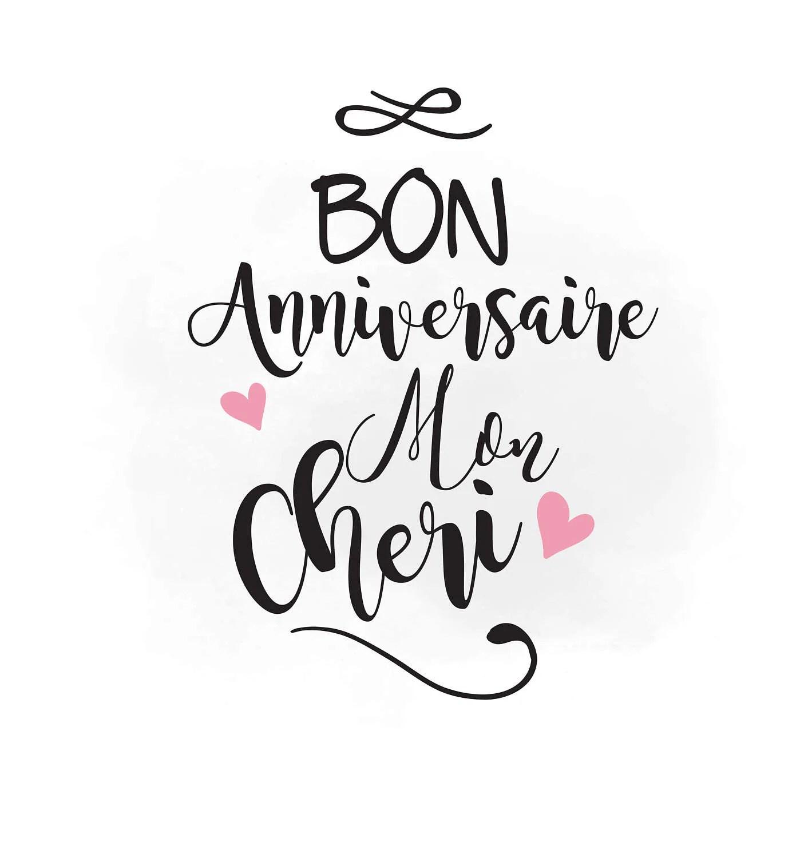 Happy Anniversary Svg Clipart Bon Anniversaire Svg