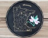 Minnesota Round Black Ser...