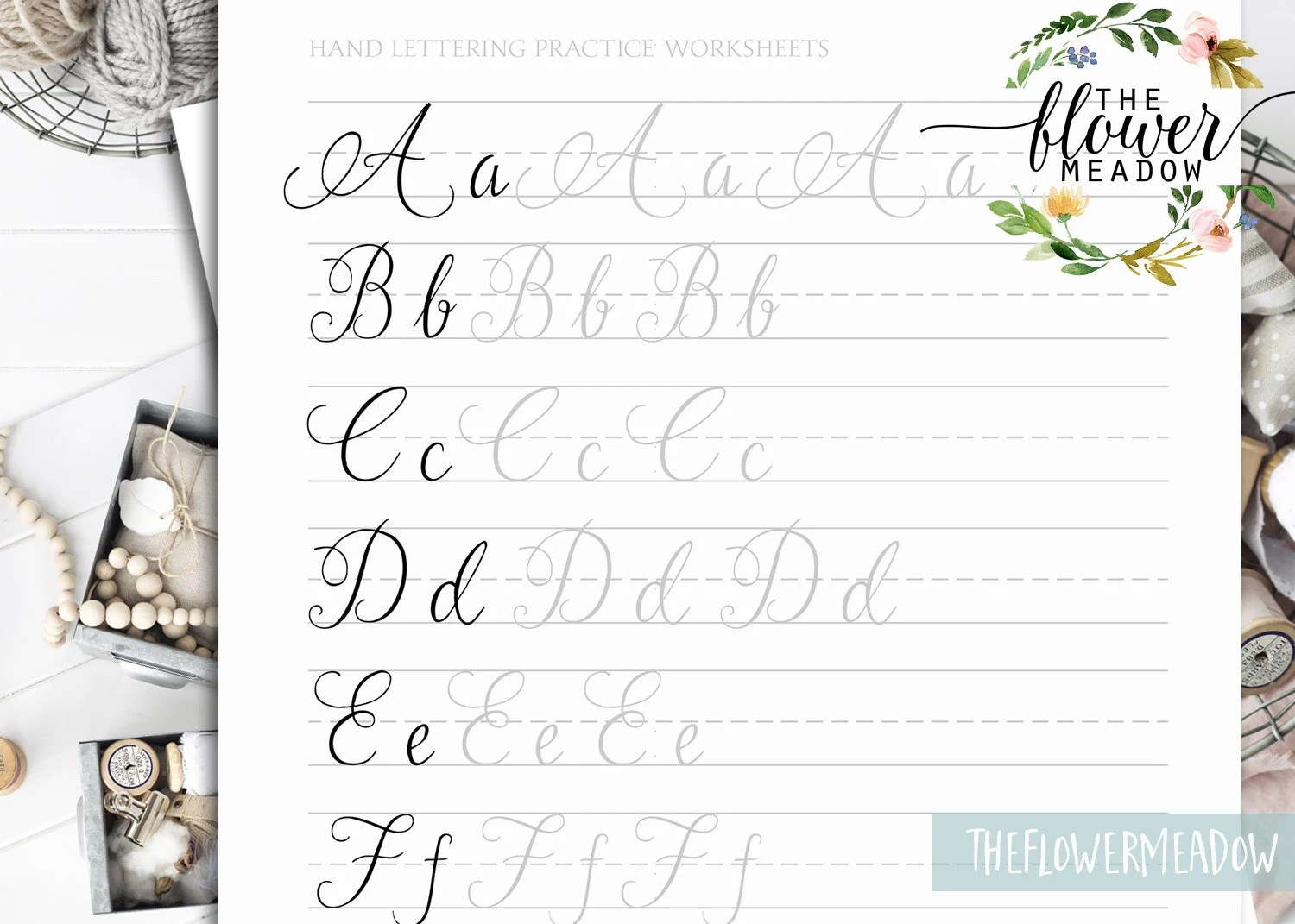 Calligraphy Tutorial Learn Calligraphy Hand Lettering Guide