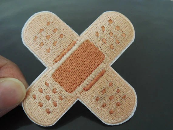 Adhesive Tape Patches Back