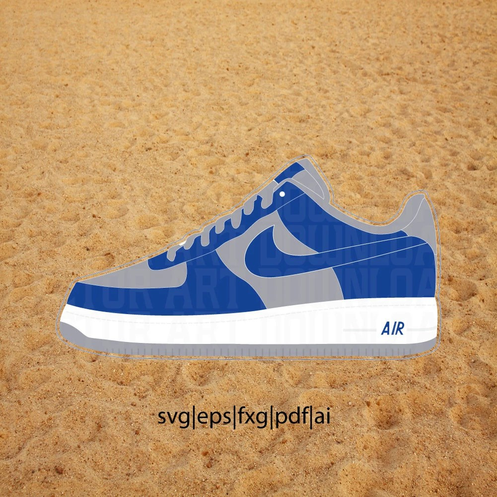 Download Air Force 1 ATMOS Vector in SVG, PDF, eps, ai format ...