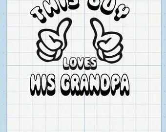 Download Two assumig grandma SVG designs :) from CynsCuttables on ...