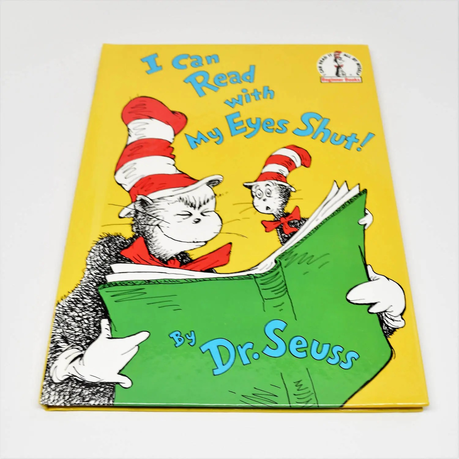 Dr Seuss I Can Read With My Eyes Shut Book