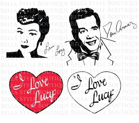 Download I Love Lucy BUNDLE Lucy Lucille Ball Desi Arnaz Ricky ...