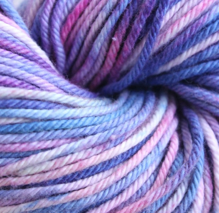 Hand dyed yarn Zelda - ve...