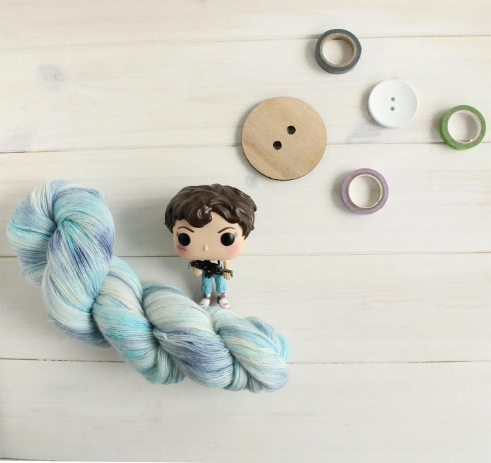 Hand dyed yarn LV 426 - A...