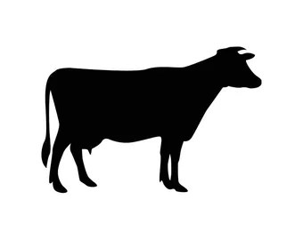 Download Little Farmer Cow SVG Cutting File, Ai, Png and Dxf ...