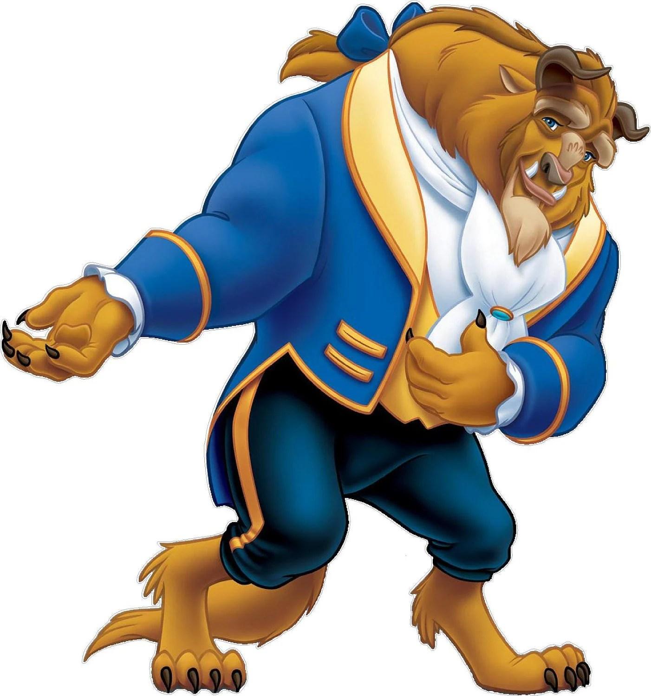 Beauty And The Beast Beast Disney Movie Character Vinyl