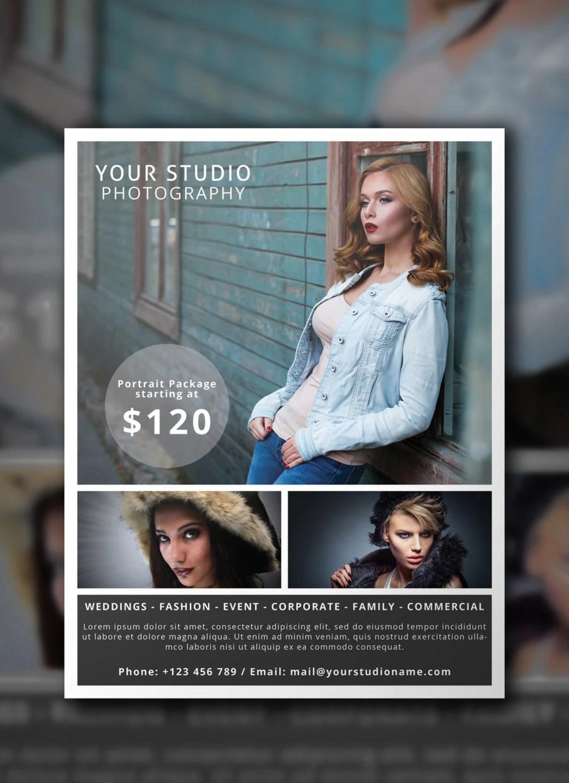 Photography Flyer PSD Template Photographer Flyer Flyer