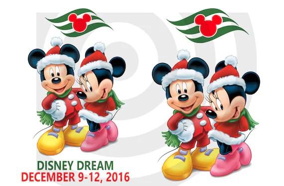Christmas Merrytime Cruises Disney Cruise Line MAGIC CARDS