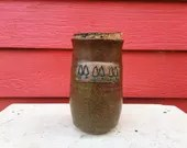 Copper Corked Jar with At...