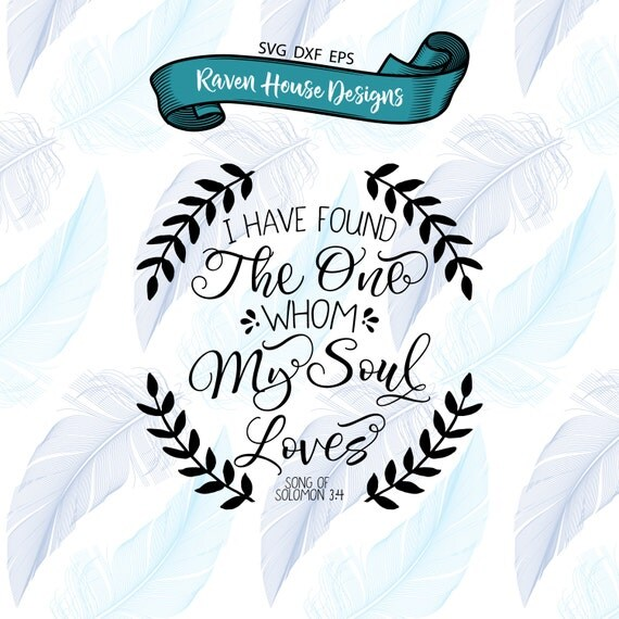 Download I Have Found the One Whom My Soul Loves Song of Solomon ...