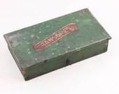Ransomes tool box, Vintag...