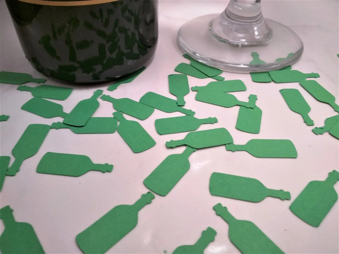 Bottle Confetti Decoratio...