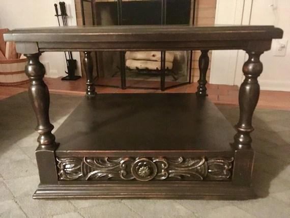 Farmhouse Coffee Table Vintage Lane Furniture Wood Table