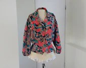 Vintage 1970s blouse with...
