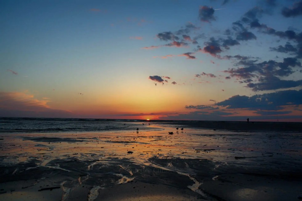 Colorful Cape May Beach S...