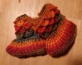 Sunrise Dragon Scale Boot...