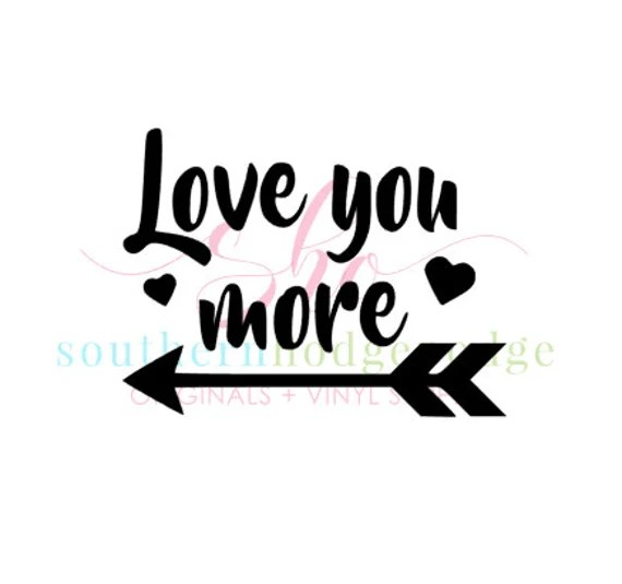 Download Love you more design/ SVG file/ svg design/ heart svg ...