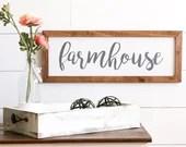 FARMHOUSE Style Rustic Wo...