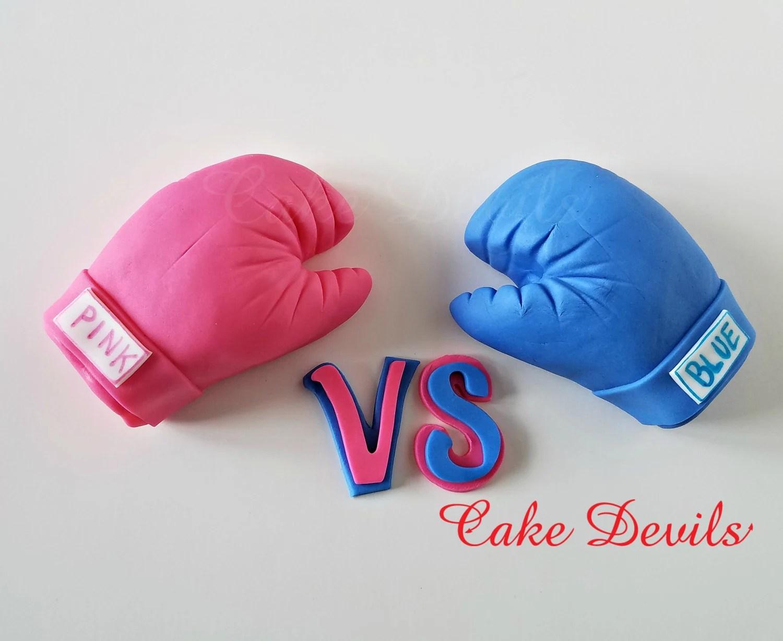 Gloves Vs Boxing Blue Boxing Pink Gloves